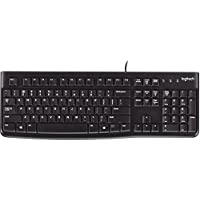 Logitech 920-002478 K120 Wired Keyboard Black