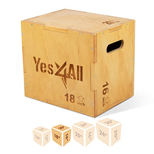 Yes4All Wood Plyo BoxWooden