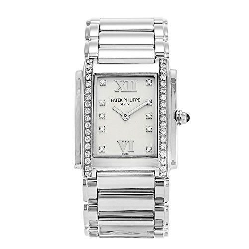 Patek Philippe Twenty 4 Diamond Ladies Watch - -