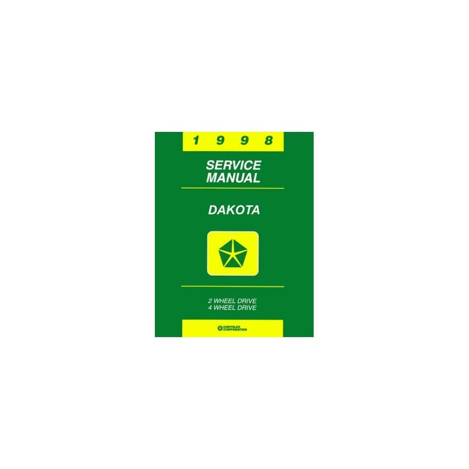 1998 DODGE DAKOTA TRUCK Shop Service Repair Manual Book