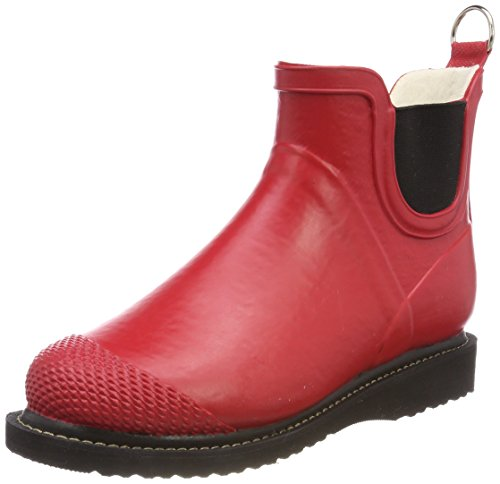 Stivali In Gomma Donna Ilse Jacobsen Short, Stivali In Gomma Donna Rub47f Rosso (rosso Scuro)