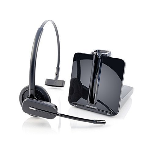Avaya Compatible Plantronics CS540 VoIP Wireless Headset Bundle with Electronic Remote Answer|End and Ring alert (EHS) for Avaya Phones: 1600, 9600 IP Phones: 1608, 1616, 9601, 9608, 9610, 9611, 9611G, ()