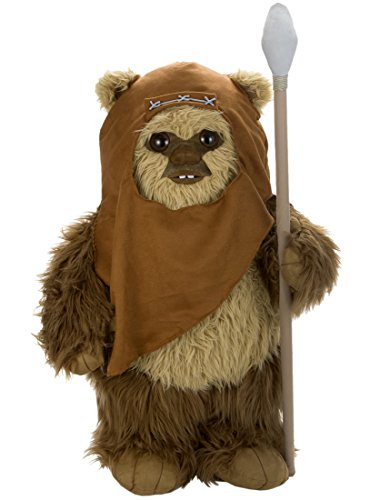 Star Wars Ewok Wicket Real Size Plush Doll Takara Tomy