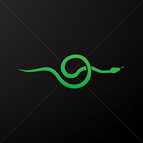 Decals Decal Alternative Medical Snakes Tablet Laptop Weatherproof Spo Green  5 X 1 58 In
