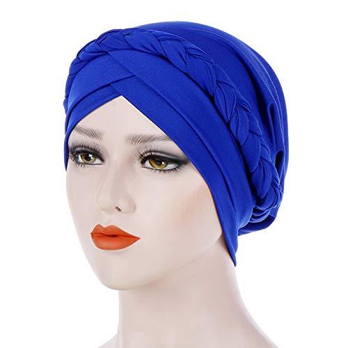 Christmas Scarf Hot Sale!!Kacowpper Women India Hat Muslim Solid One Tail Chemo Beanie Scarf Turban Warm Wrap Cap -
