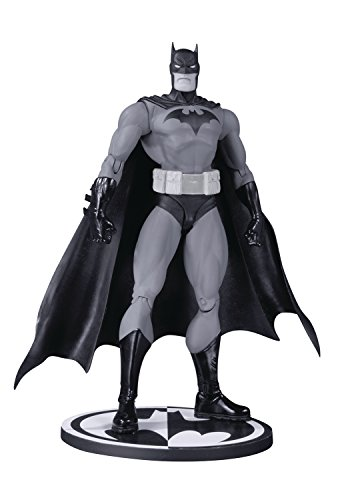 DC Collectibles Black & White: Hush Batman Jim Lee Action (Jim Lee Batman)