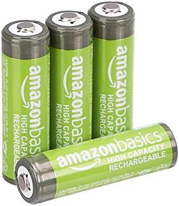 Battery NiMH 1300 mAh AA 4pk Batteries rechargeable-cm85465