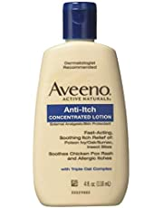 Aveeno Anti-Itch Concentrated Lotion, 4 oz (Pack of 6)