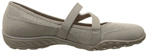 Skechers Breathe-Easy-Lucky Lady, Zapatillas para Mujer gris