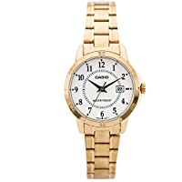 492fc6b6f95 Relogio Feminino Casio Analogico Collection - Ltp-v004g-7budf - Dourado