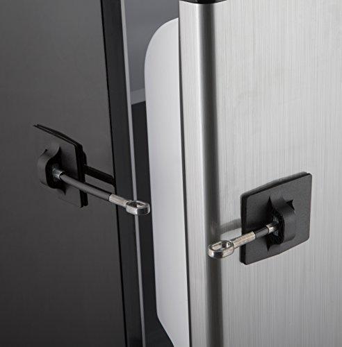 Refrigerator Door Lock Without Padlock Black New Ebay