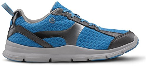 Dr. Comfort Meghan Women's Therapeutic Extra Depth Athletic Shoe: Blue 8 Wide (C-D) Lace by Dr. Comfort (Image #5)