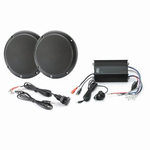 PolyPlanar MP3-KIT4-B MP3 Input/MA4055B/ME-60 Kit - Black ()