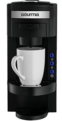 Single Serve Coffee Maker With Ground Coffee : Gourmia GC150 JavaMaster 2-In-1 K-Cup and Ground Coffee Single Serve Coffee Maker with ...