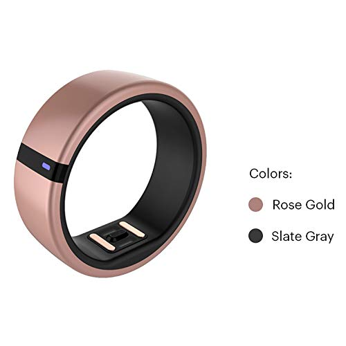 Motiv Ring Fitness, Sleep and Heart Rate Tracker – Waterproof Activity and HR Monitor – Calorie and Step Counter – Pedometer