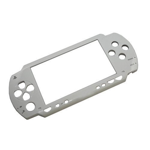 (Gametown NEW Repair Front Faceplate Case Cover Shell Part for Sony PSP 1000 1001 White)