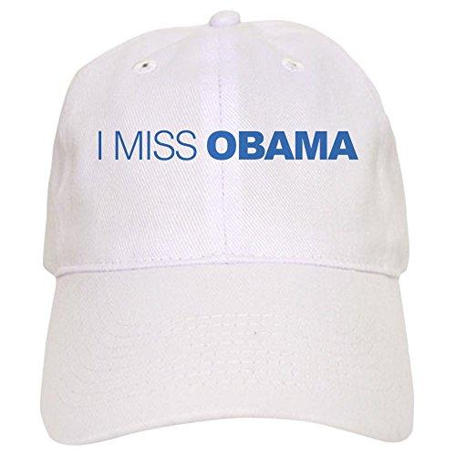 CafePress I Miss Obama - Baseball Cap With Adjustable Closure, Unique Printed Baseball Hat - Anti Obama Cap