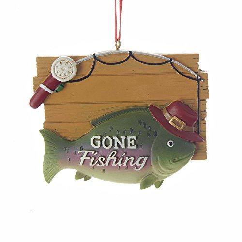 - Kurt Adler Gone Fishing Ornament