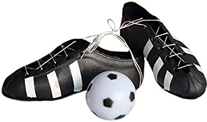 Soccer Cleats and Soccer Ball Cake