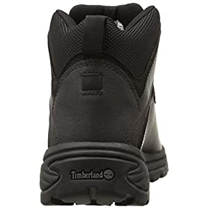 Timberland Men's White Ledge Mid Waterproof Ankle Boot,Black,9 M US