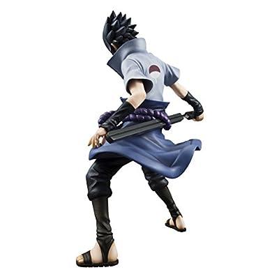 Megahouse Naruto Shippuden: Sasuke G.E.M. PVC Figure: Toys & Games