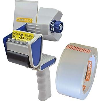 6c46482815d Tape King TX100 Packing Tape Dispenser Gun - Plus 1 Free Roll of Packaging  Tape - Best Side Loading 2 Inch Lightweight Ergonomic Industrial Gun for  Shipping ...