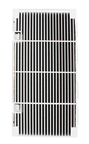 iFJF RV A/C Ducted Air Grille Duo-Therm Air Conditioner Grille Replace for The Dometic #3104928.019 with Air Filter pad Assembly - Polar White.