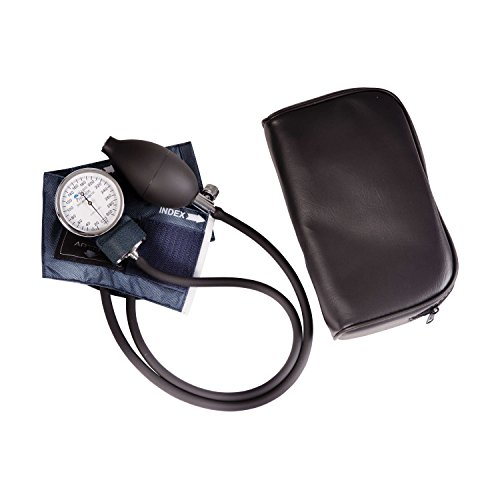 Mabis Precision Series Aneroid Sphygmomanometer Manual Blood Pressure Monitor, Cuff Size 5.5 to 7.8 inches, Infant