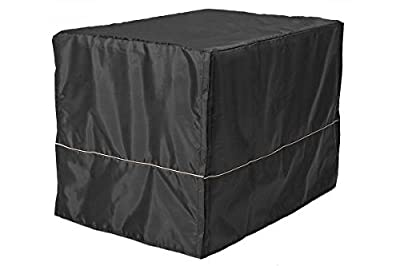 Sofantex Black Crate Cover for Wire Crate