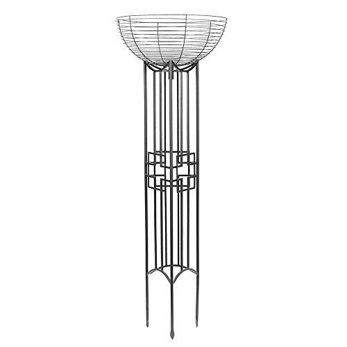 (Achla Designs PYL-25 Squares Pylon, Graphite)