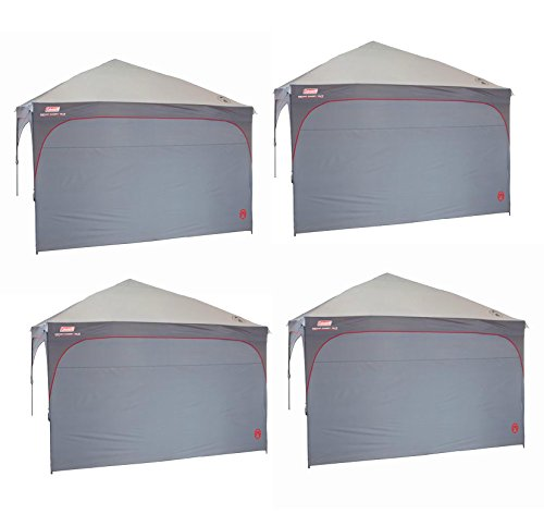 4) COLEMAN Camping Tailgating Instant Canopy Sunwall Side Walls |