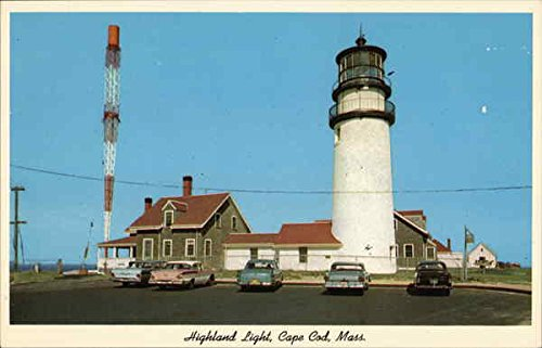 - View of Highland Light Cape Cod, Massachusetts Original Vintage Postcard