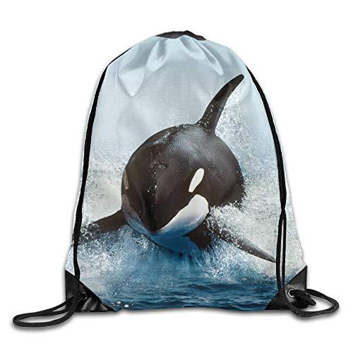 Drawstring Bag Gym Bag Travel Backpack, Do Not Give Up Cat, Large Gym Drawstring Canvas Bags For Boys Girls -