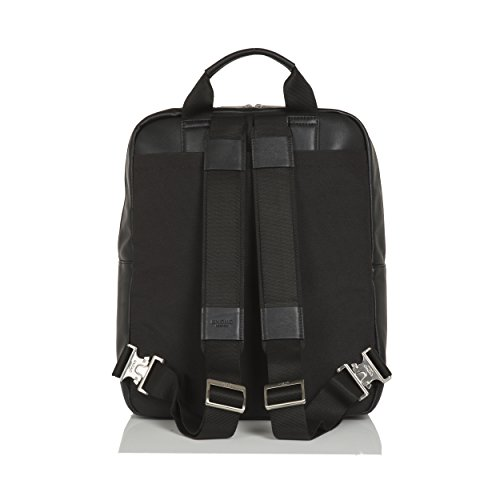 Knomo Luggage Men's Dale Business Backpack, Black, One Size by Knomo (Image #5)