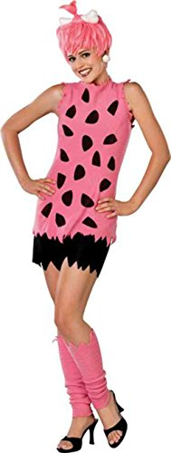 UHC Teen Girl's Tv Characters The Flintstones Pebbles Halloween Costume, Teen XS -