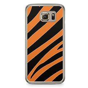 Tiger Samsung Galaxy S6 Transparent Edge Case - Animal Prints Collection