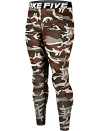 New 120 Skin Tights Compression Leggings Base Layer Camo Running Pants Mens