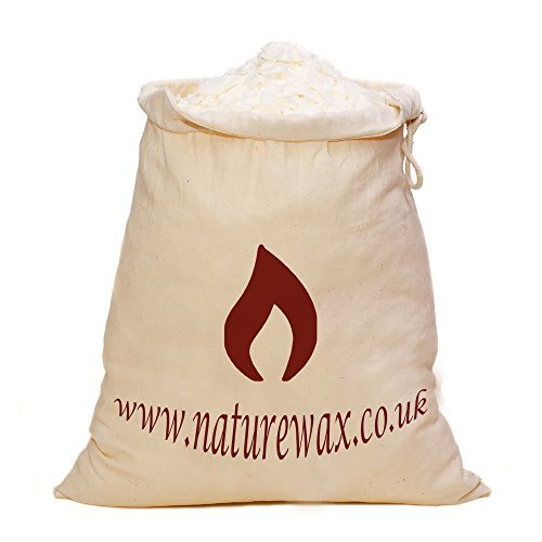 1 KILO Naturewax.co.uk Soy CONTAINER Candle wax Flakes in...