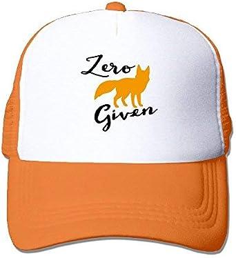 Given Trucker Hat Fox unisex Black Zero