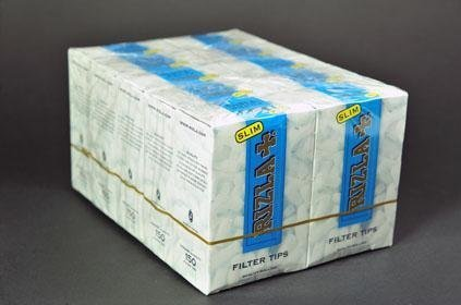 (1500 RIZLA SLIM CIGARETTE FILTER TIPS 10 PACKETS - NEW by Rizla)