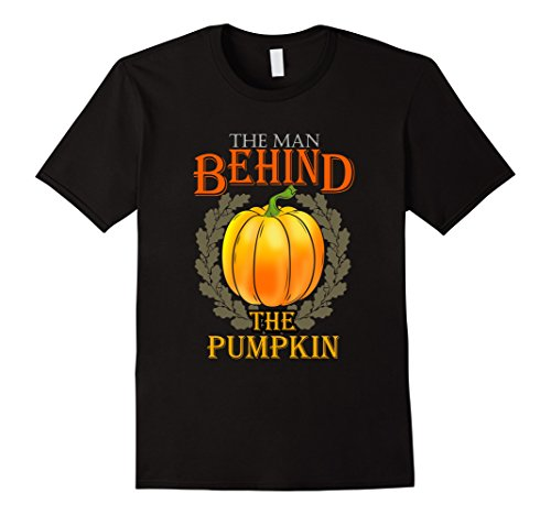 Mens Halloween Shirt Pumpkin Costume Pregnancy Cool Couple Outfit XL Black