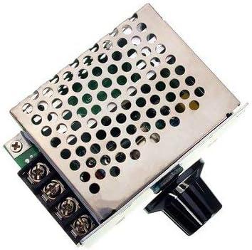 1 variateur de tension 4000 W 220 V AC SCR Module de r/églage de tension pour moteur /électrique 4000 W 220 V SCR R/égulateur de tension variateur de vitesse du moteur /électrique
