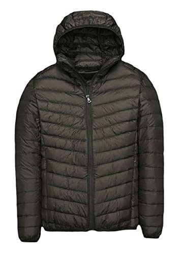 Fit Ultra Solid Coat AS12 Duck Light Fall Winter Down Zip RkBaoye up Mens Weight cOZw0vWFYq