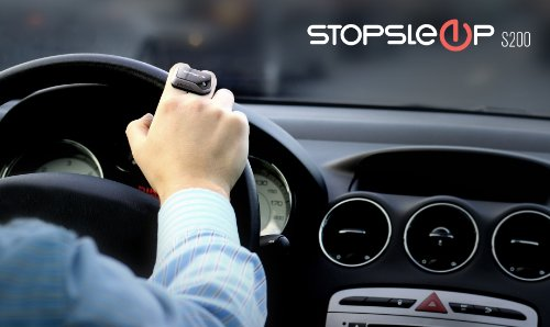 Anti Sleep Alarm for Drivers. Warns up to 5 Minutes Before Drowsiness. Beep and Vibration Doze Alert. Car Truck Safety Driving Warning Device. Stay Awake Nap Detector Technology Alertness System by Stopsleep (Image #4)