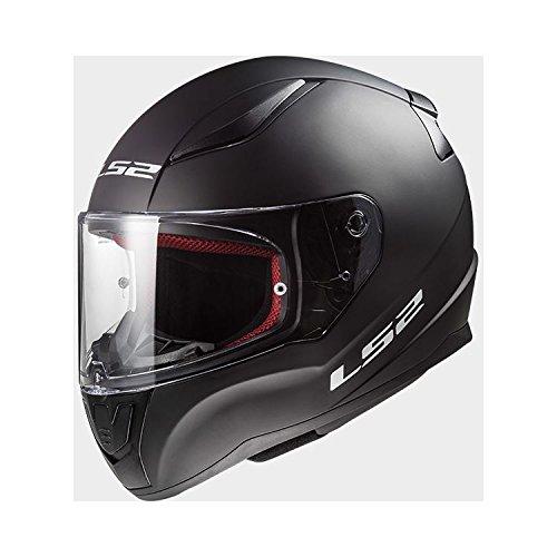 LS2 Helmets Motorcycles & Powersports Helmet's Full Face Rapid Mini Youth (Matte Black, Small)