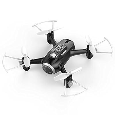 Syma X22W RC Drone Camera Nano Quad Copter WiFi FPV Pocket Drone RTF Mode 4 Channel Headless Mode from Syma