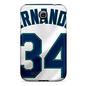 Perfect Hard Phone Covers For Samsung Galaxy S4 (DYO12155kmDp) Custom Trendy Seattle Mariners Image