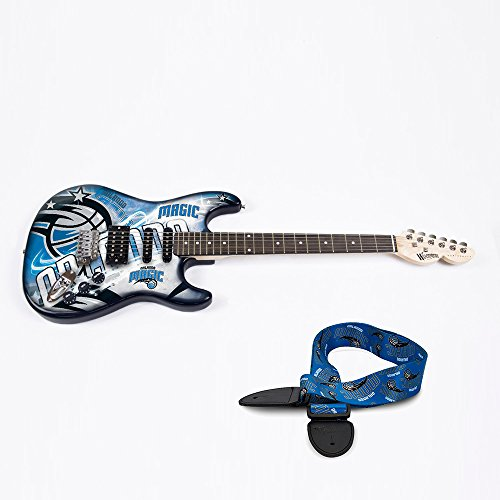 Orlando Magic NBA ''Northender'' Electric Guitar with Strap by Woodrow