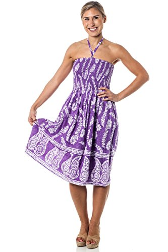 One-size-fits-most Tube Dress/Coverup - Jasmine