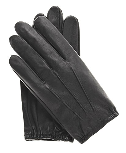 Pratt and Hart Men's Thin Unlined Police Search Duty Gloves Size M Color Black